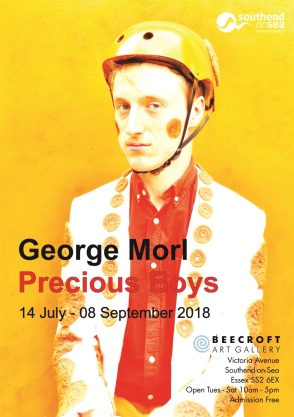 'George Morl; Precious Boys' Southend Museum Invitation#2